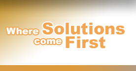 Where Solutions Come First